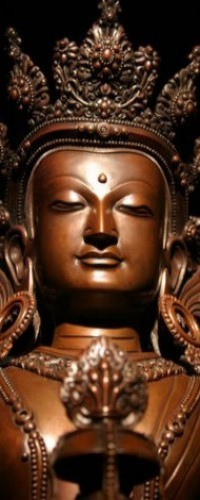 Buddhism and Buddhist Art - Statue of Amitayus